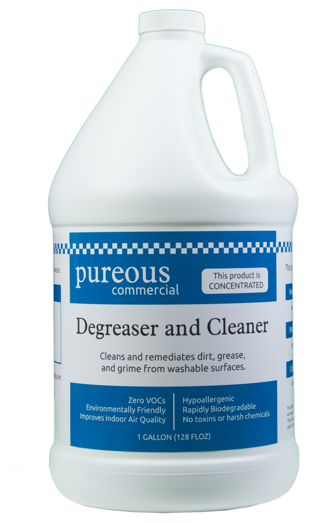 Degrease and clean pureous for How to degrease concrete floor